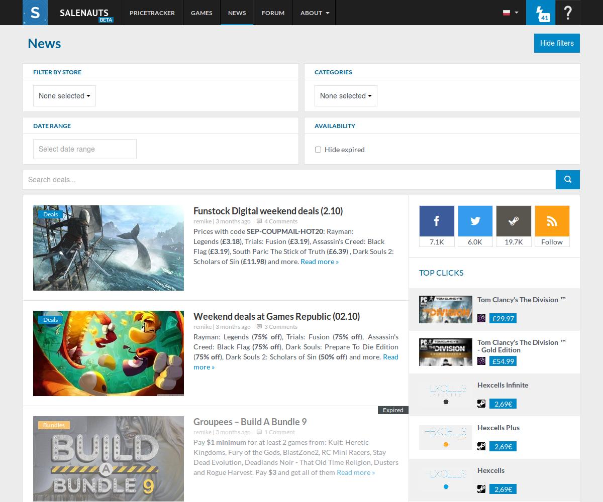 Open beta of Salenauts | Robert Korulczyk – Homepage