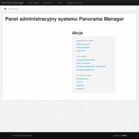 Panorama manager