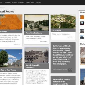 Strona główna projektu Shtetl Routes